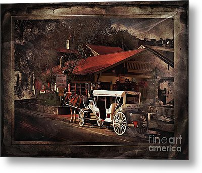 The Carriage Metal Print by Bob Pardue