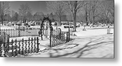 The Cemetery Metal Print