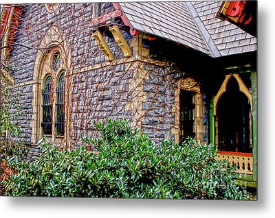 Central Park Dairy Cottage Metal Print
