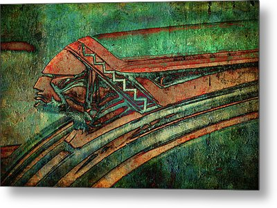 Metal Print featuring the digital art The Chief by Greg Sharpe