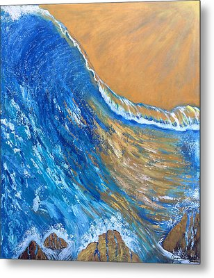 The Cleansing Metal Print by Jacqueline Martin