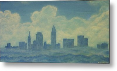 The Cleveland Blues Metal Print by James Violett II