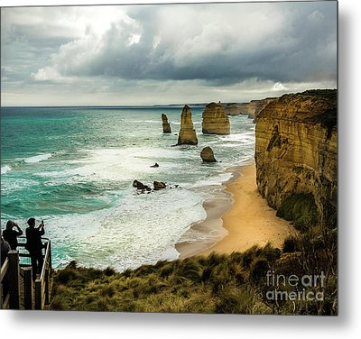 Metal Print featuring the photograph The Coast by Perry Webster