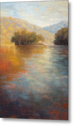 The Color Of Water Metal Print by Jonathan Howe