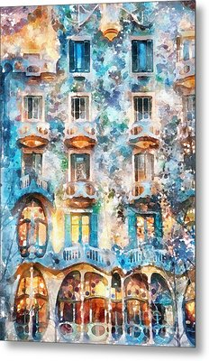 The Colors Of Spain Metal Print by Shirley Stalter