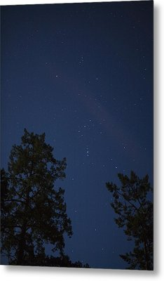 The Constellation Orion At Night Metal Print by Taylor S. Kennedy