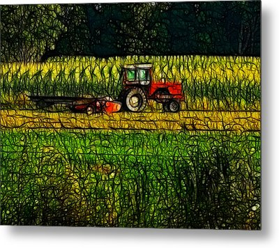 The Cornfield Metal Print