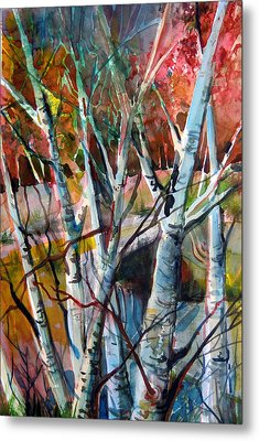 The Cries Of Autumn Metal Print by Mindy Newman