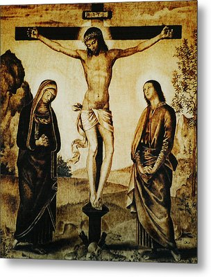 The Crucifixion Metal Print by Dino Muradian