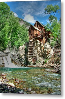 The Crystal Mill In Crystal Colorado Metal Print by Ken Smith