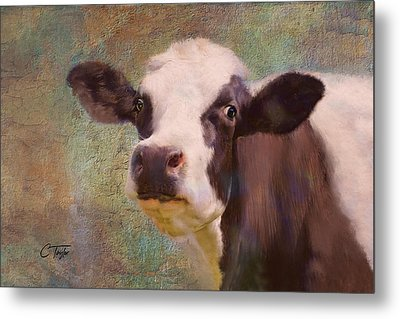 Metal Print featuring the mixed media The Dairy Queen by Colleen Taylor