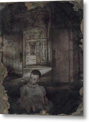 The Dark Place Metal Print by Cindy Nunn