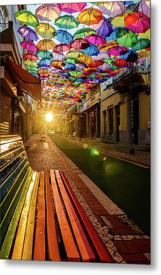 The Dawn Of A Colorful Day Metal Print by Marco Oliveira