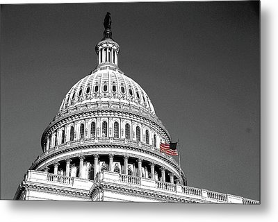 Metal Print featuring the photograph The Dome by John Schneider