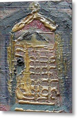 The Door Metal Print by Anne-Elizabeth Whiteway