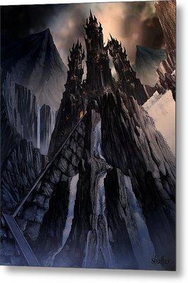 The Dragon Gate Metal Print