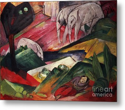 The Dream  Metal Print by Franz Marc