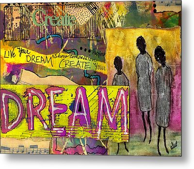 The Dream Trio Metal Print by Angela L Walker