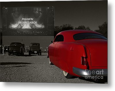 The Drive-in Metal Print by Dennis Hedberg