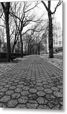 Metal Print featuring the photograph The Edge Of The Upper East Side by Lora Lee Chapman