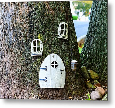 The Elf House Metal Print