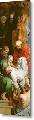 The Entombment Of St Stephen Metal Print