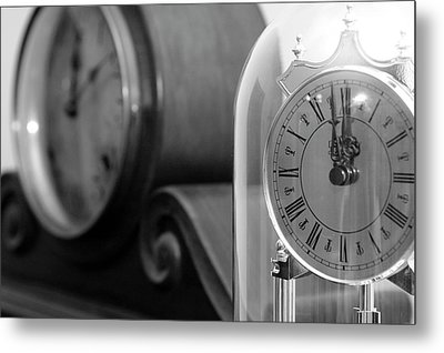 Metal Print featuring the photograph The Faces Of Time by Wanda Brandon