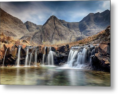 Metal Print featuring the photograph The Fairy Pools - Isle Of Skye 3 by Grant Glendinning
