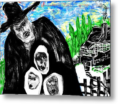 Metal Print featuring the digital art The Family Man by Rc Rcd