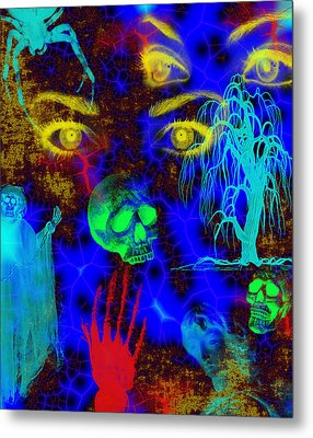 The Fight For Souls Metal Print