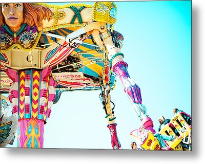 The Fighter Metal Print by Kim Fearheiley