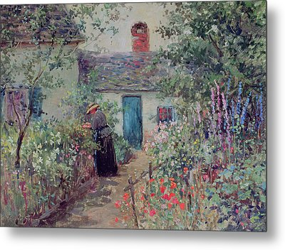 The Flower Garden Metal Print by Abbott Fuller Graves