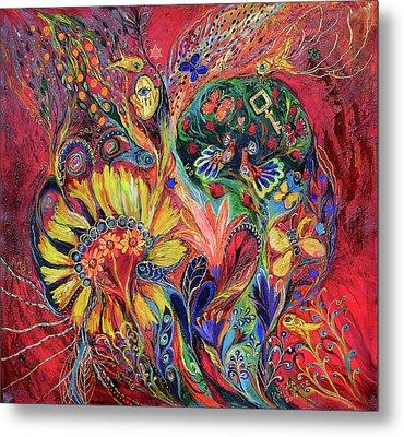 The Flowering Metal Print by Elena Kotliarker