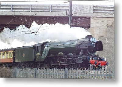 The Flying Scotsman Metal Print