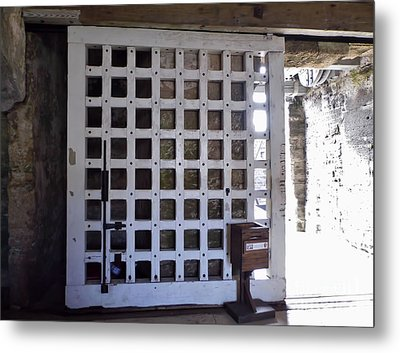 The Fort Door Metal Print