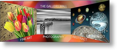 The Gallery Wall Logo Contest  3 Metal Print by Steve Purnell