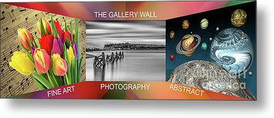The Gallery Wall Logo Contest  4 Metal Print by Steve Purnell
