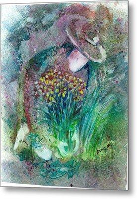 The Gardener Metal Print