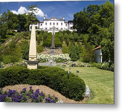 Metal Print featuring the photograph The Gardens by Peter Skiba