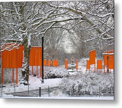 The Gates On Cherry Hill Metal Print