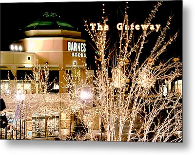 The Gateway Mall Metal Print by Gary Baird