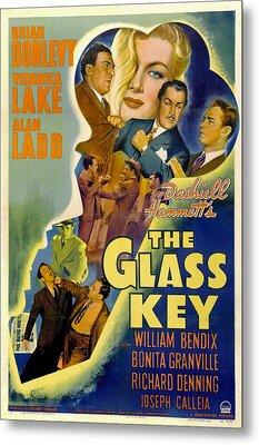 The Glass Key, William Bendix, Veronica Metal Print by Everett