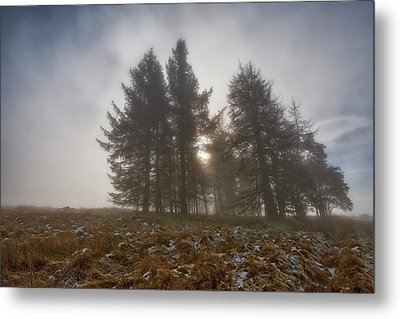 Metal Print featuring the photograph The Gloomy Sunrise by Jeremy Lavender Photography