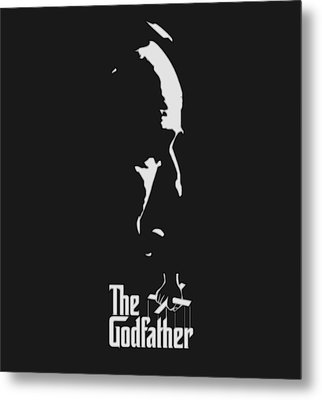 The Godfather Metal Print by Dan Sproul