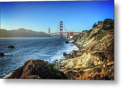 The Golden Gate Bridge Metal Print by Everet Regal