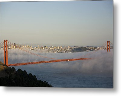The Golden Gate Bridge From Marin Metal Print by Richard Nowitz
