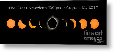 The Great American Eclipse Of 2017 Metal Print