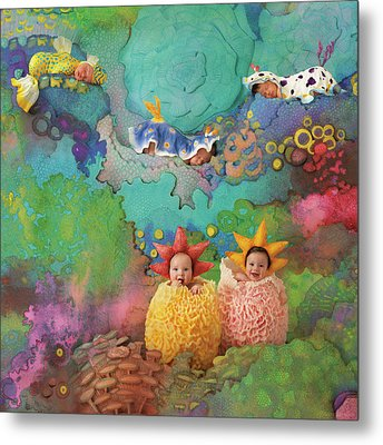 The Great Barrier Reef Metal Print by Anne Geddes