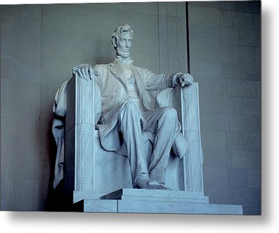 The Great Emancipator Metal Print by Carl Purcell