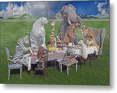 The Great Escape Metal Print by Betsy Knapp